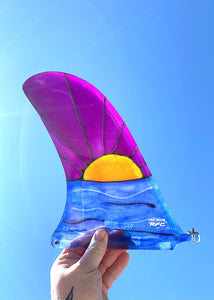 Nomad 9.5inch Rainbow Fin