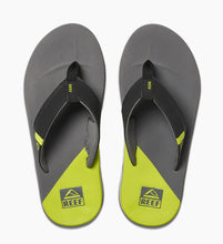 Load image into Gallery viewer, Reef Men Fanning Low | Grey Lime