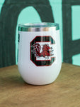 University of South Carolina Corkcicle stemless cup