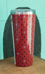 South Carolina University Polka Dot 24oz Tumbler