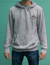Load image into Gallery viewer, Dyed grey Sunrise pullover hoody
