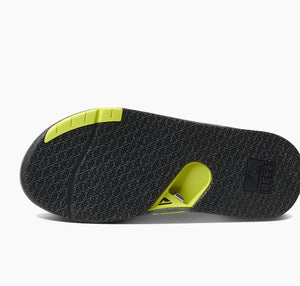 Reef Men Fanning Low | Grey Lime