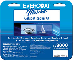 Evercoat Marine Gelcoat Repair Kit 108000