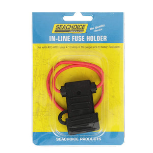 12761 Seachoice 10 Amp Water Resistant In-Line Fuse Holder