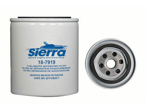 18-7919 Sierra Marine  Fuel Water Separator Filter (Spin On Replacement)