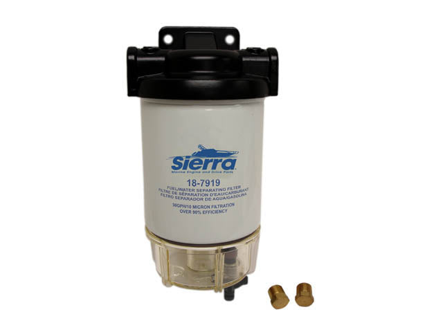 18-7932-1 Sierra Fuel Water Separator Assembly, Racor Style