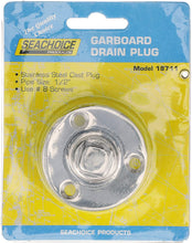 "Load image into Gallery viewer, 18711 Seachoice Stainless Steel 1/2"" Garboard Drain"