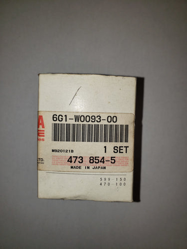6G1-W0093-00 NOS Yamaha Carburetor Repair Kit