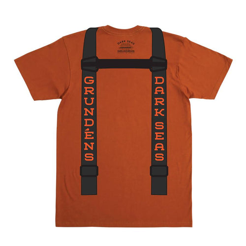 Dark Seas Grundens Suspenders T-Shirt