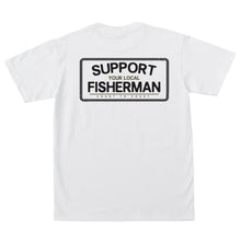 Load image into Gallery viewer, Dark Seas Support Your Local Fisherman T-Shirt