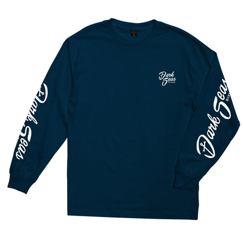 Dark Seas Broadcast Stock Long Sleeve Tee