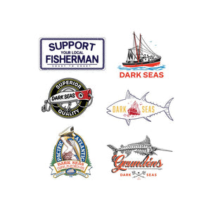 Dark Seas Sticker Assortment 322100026