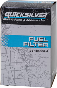 35-18458Q4 Quicksilver Water Separating Fuel Filter Kit with Blue Sensor 35-18458 5