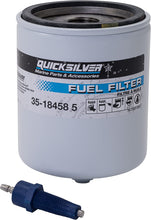 Load image into Gallery viewer, 35-18458Q4 Quicksilver Water Separating Fuel Filter Kit with Blue Sensor 35-18458 5