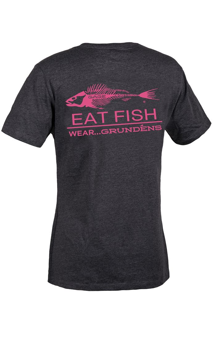 Grundens Women's Eat Fish T-Shirt