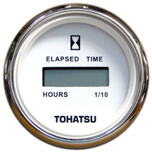 3GL725240M Tohatsu White Faced Digital Hour Meter 3GL-72524-0