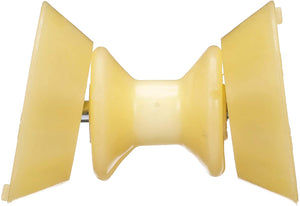56590 Seachoice Bow Roller with Bells – Fits 3 Inch Wide Bracket – 1/2 Inch ID