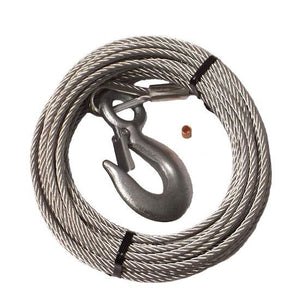 "59400 TIEDOWN 7/32"" x 50' Galvanized Trailer Winch Cable"