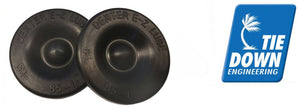 81174 Dexter Super Lube Grease Cap Rubber Plug, Sold As A Pair