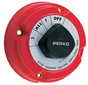 8501DP Perko Battery Selector Switch