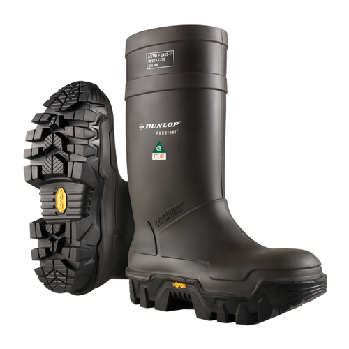 Dunlop Explorer Thermo+ Full Safety Boot With Vibram Sole #E902033