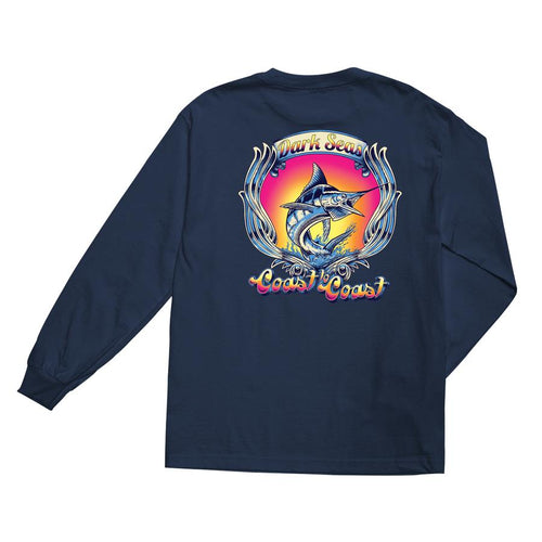 Dark Seas Glossy Long Sleeve T-Shirt