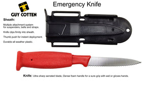 Guy Cotten Emergency Knife + Sheath