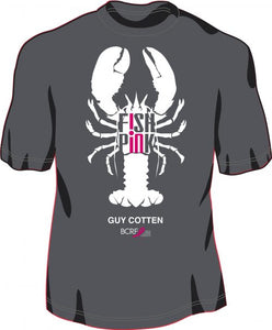 "Guy Cotten ""Fish in Pink"" T-Shirt & Sweatshirts"