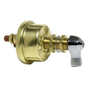 M-284-01BP Cole Hersee (A Little Fuse Brand) Single Pole Brass Body Marine Battery Switch