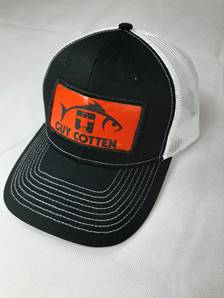 NEW Guy Cotten Trucker Hat with PVC Patch