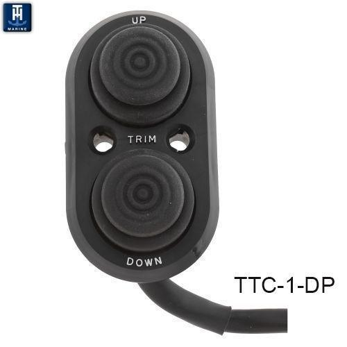 TTC-1-DP Transom Push Button Trim Switch
