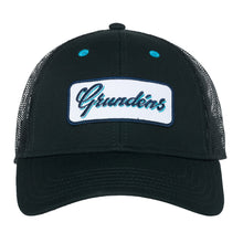 Load image into Gallery viewer, Grundens Women's Script Trucker Hat