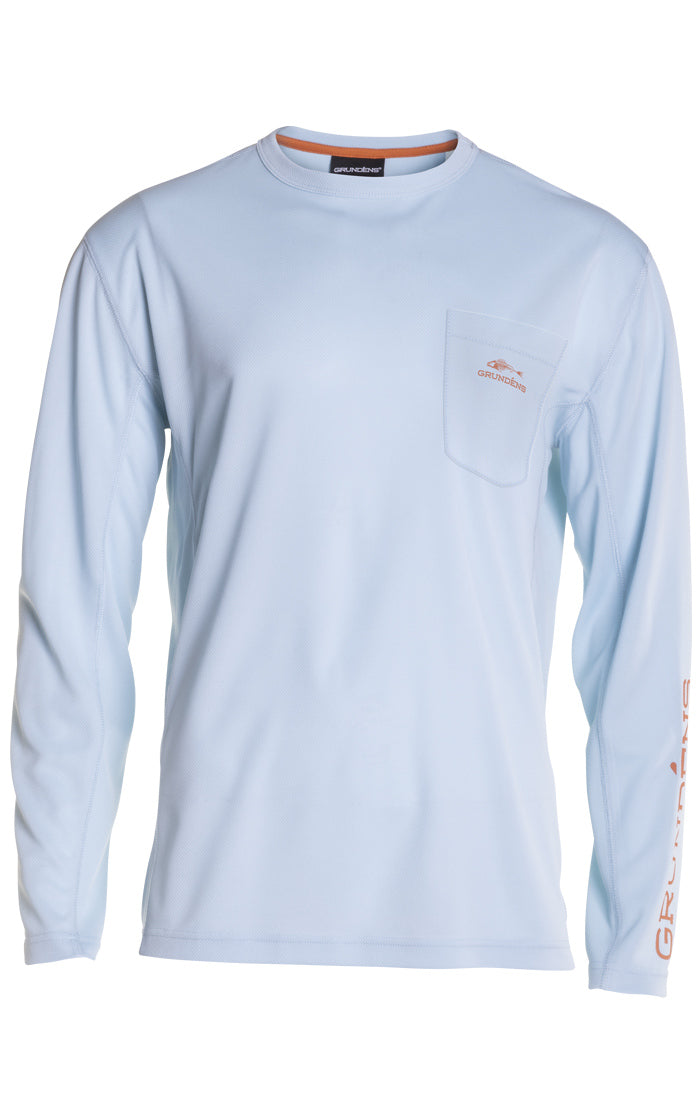 Grundens Fish Head Long Sleeve Shirt