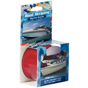 "RE43DR INCOM LifeSafe Marine Grade Boat Striping 1""X50' Dark Red"