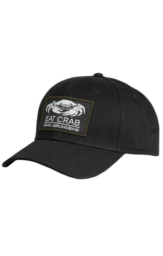 Grundens Eat Crab Snap Back Ball Cap