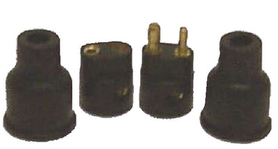TC43604 Sierra Round Molded 2 Pole Connector