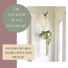 Load image into Gallery viewer, DIY Macrame Plant Hanger