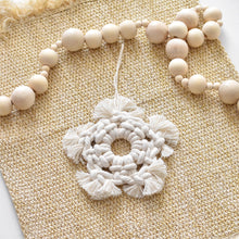 Load image into Gallery viewer, Macrame Star Ornament