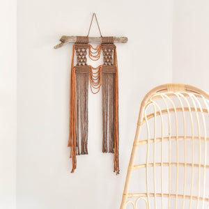 Twisted Collection Neutral Wall Hanging