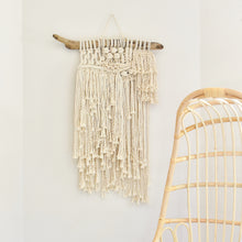 Load image into Gallery viewer, Handmade Macra-Weave Wall Hanging