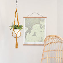 "Load image into Gallery viewer, Handmade ""Elizabeth"" Macrame Plant Hanger - Multiple Color Options"