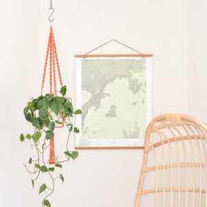 "Handmade ""Elizabeth"" Macrame Plant Hanger - Multiple Color Options"