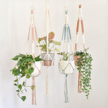 "Load image into Gallery viewer, Handmade ""Ashley"" Macrame Plant Hanger"