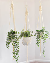 "Load image into Gallery viewer, Handmade Macrame ""Patricia"" Plant Hanger"