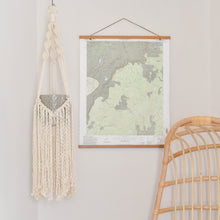 Load image into Gallery viewer, Handmade Macrame Plant Hanger with Fringe