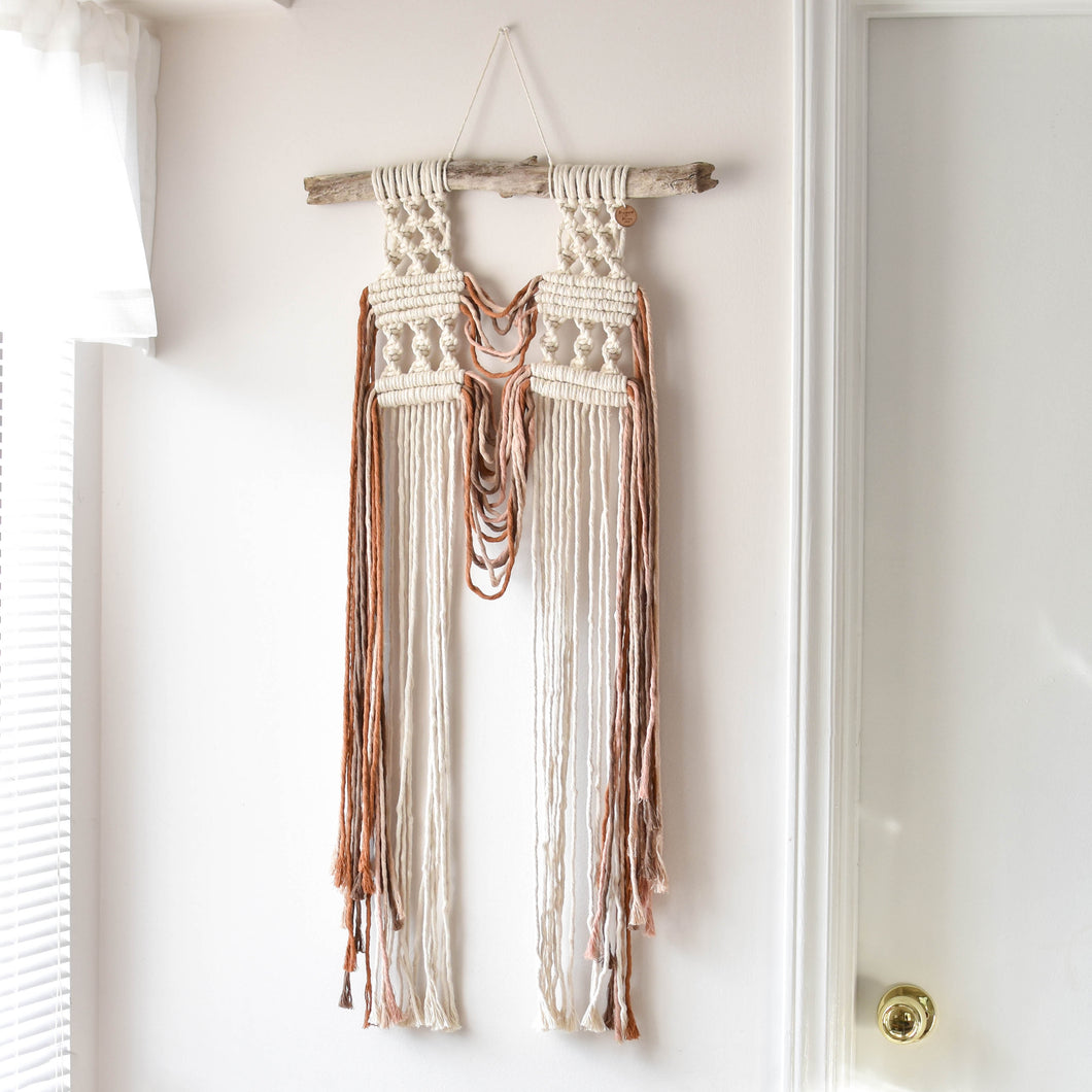 Twisted Collection Colorful Wall Hanging