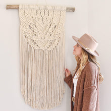 Load image into Gallery viewer, Handmade Macrame Wall Hanging - Large