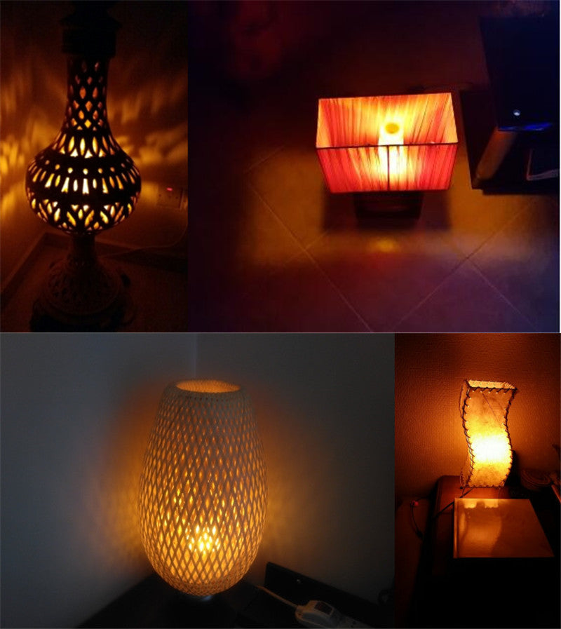Gravity Sensing Realistic Flame Light Bulb - Trendings