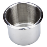stainless steel poker table drop in cup holder