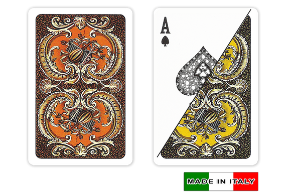 DA VINCI Italian plastic playing cards - Harmony design - bridge size normal index